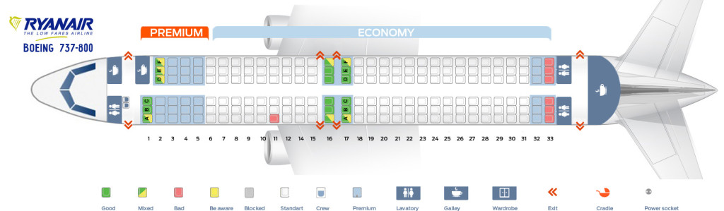 Random seat allocation Ryanair