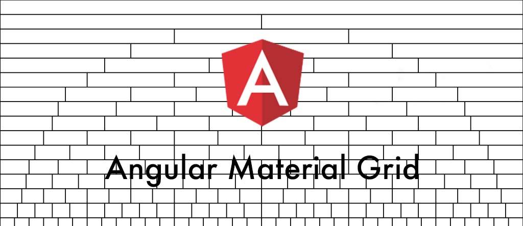 Angular Material Grid 🔲 (Example)