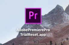 Free Premiere Pro on Mac OS X? PremierePro Trial Reset Tool!