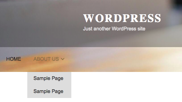 Wevflow Navbar to WordPress Menu Screenshot