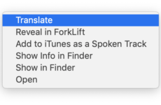 Translate Selected Text to English on Right Click for FREE