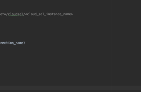 Can't connect to MySQL server on 'localhost' (Google SQL)